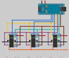 Arduino CNC including downloadable arduino sketch