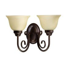 View the Quorum International 5402-2-1 Transitional 2 Light Reversible Wall Sconce at LightingDirect.com.