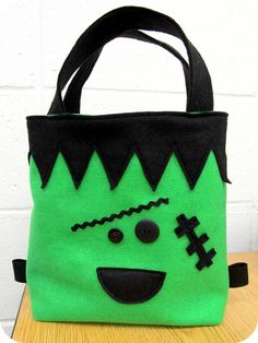 DIY Trick or Treat bag, scroll pretty far down for this post  homemade by jill: sewing for kids