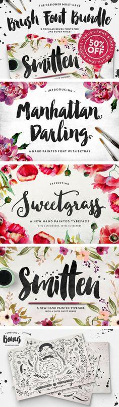Loving this beautiful script font set