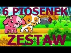 Piosenki dla dzieci ZESTAW 6 piosenek dla dzieci po polsku Krasnoludki, ...