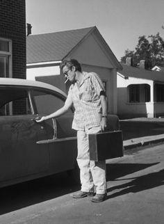JD in Marfa, Texas 1955
