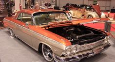 Charlie Rodgers from Huber Heights debuted his just finished 1962 Chevy Impala at the 53rd Cavalcade of Customs in Cincinnati.   ©2013 Photograph by Skip Peterson