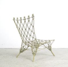 AreaNeo | Marcel Wanders knotted chair for Cappelini 1967