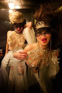 Photos: Sensual Sleep No More Masquerade Ball Welcomes 2014: Gothamist