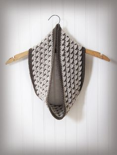 Ravelry: Crossover Cowl and Ear Warmer pattern by Briana Olsen
