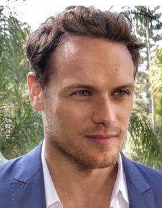 Sam Hueghan, Sam And Cait, Love Sam, Outlander Tv Series, Sam Heughan Outlander, Caitriona Balfe, Jamie Fraser, Celebs, Celebrities