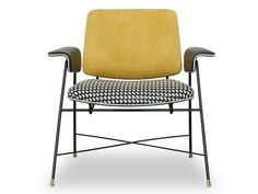 Bauhaus Special Edition chair by Baxter Living Room Upholstery, Upholstery Trim, Upholstery Cushions, Furniture Upholstery, Upholstered Chairs, Upholstery Cleaning, Print Texture, Chair Design, Furniture Design