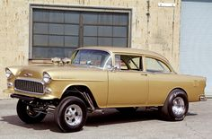 1955 Chevrolet 210 Gasser...my uncle used to have one of these...what fond memories I have of that car...and very fast...