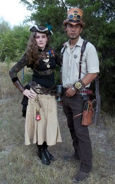 All Things Crafty: Steampunk costume
