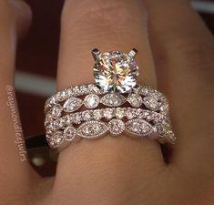 Stunning Wedding Ring Idea~