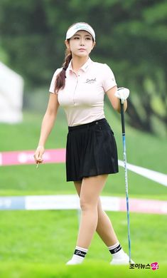 Cute Golf Outfit, Golf Wear, Great Women, Other Outfits, Female Athletes, Sport Girl, Sports Women, Asian Girl, Ballet Skirt