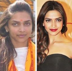 Have you ever wondered how Actresses look once their makeup is stripped off? Now, it's time you see your famous Bollywood Actress without makeup. Bollywood Actress Without Makeup, Bollywood Actors, Bollywood Celebrities, Ugly To Pretty, Deepika Padukone, Kareena Kapoor, Plastic Surgery, Most Beautiful Women, Indian Beauty