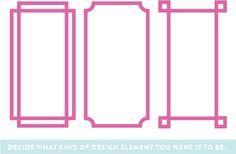 Washi Tape kitchen cabinet patterns