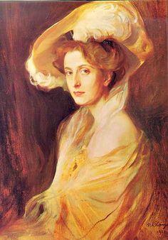 Philip Alexius De László -Princesa Louise Mountbatten - 1907