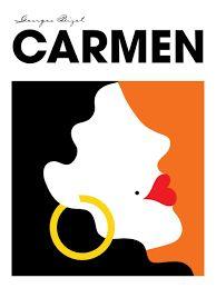 Image result for carmen opera poster