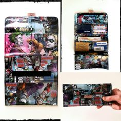 Specialrequest HARLEY QUINN vs JOKER extra big wallet ♠🃏💣💥!!! #jokerwallet #harleyquinn #comiclover #dc #bigwallet #frauenportemonnaie #pauwpauwproducts