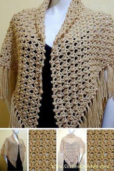 Crochet Shawl Prayer.