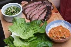 Momofuku Marinated Flank Steak Ssäm