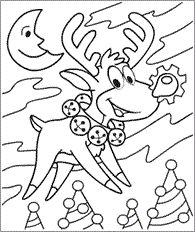 christmas coloring pages elmo  coloring kids  Pinterest