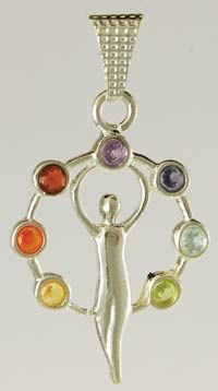 goddess symbol - chakra stones