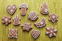 Who is Santa Claus and how do you celebrate St. Nicholas Day in Germany? Gingerbread Man, Gingerbread Cookies, My Recipes, Cookie Recipes, Cooking Websites, Cooking Ideas, Chocolate Coins, Christmas Cooking, Cake Ingredients