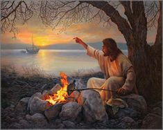 I love this painting of the amazing jesus!! I just love him!! The Lord is so great!!