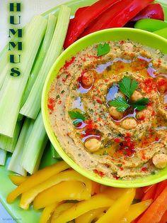 Con sabor a canela: Hummus ( paté de garbanzos)