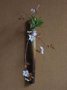 With Ikebana, I prefer the simpler styles like the early Kuge or Shoka that only employ up to three botanical elements mixed with a lot of space Ikebana Flower Arrangement, Ikebana Arrangements, Floral Arrangements, Japanese Flowers, Japanese Art, My Flower, Flower Art, Cactus Flower, Bonsai