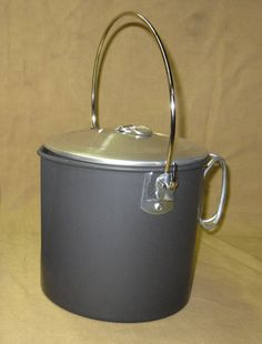 Four Dog Stove Co. - 1.8 Liter Mors Camp Pot, $36.00 (http://fourdog.com/1-8-liter-mors-camp-pot/)