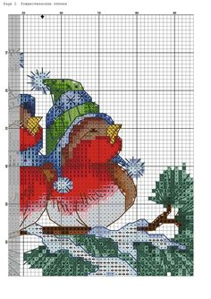 Fénykép a közösség üzenőfalán – 9,042 fénykép | VK Cross Stitch Bird, Counted Cross Stitch Patterns, Christmas Cross, Diy Christmas Ornaments, Winne The Pooh, Christmas Drawing, Needlework, Embroidery, Crafts