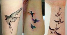 Tatuaż ptaki - urocze wzory tatuażu na ręce, plecy i nogi Lace Tattoo, Flower Tattoos, Tatoos, Drawings, Tattoo Nature, Tatuajes, Tattoos Of Flowers, Floral Tattoos, Blossom Tattoo