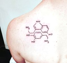 Image result for dopamine and serotonin tattoo