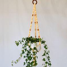 Makraméampel mellan Second Hand, Plant Hanger, Plants, Home Decor, Pictures, Decoration Home, Room Decor, Plant, Home Interior Design