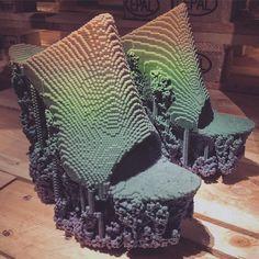 Utopian Bodies exhibit in Atockholm... Such an amazing exhibit glad to have made it for its premiere weekend! #stockholm #sweden #adventures #travel #explore #bestofstockholm #pyteurotrip #shoes #heels #3dprinting #gradient #twentyfifteen by ilikeyourpeacock