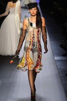 Jean Paul Gaultier vestido bordado