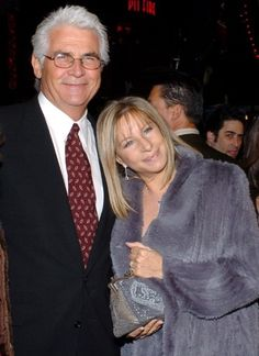 With second husband, James Brolin.