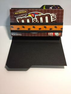 My Creative Corner! Candy holder made with envelope punch board