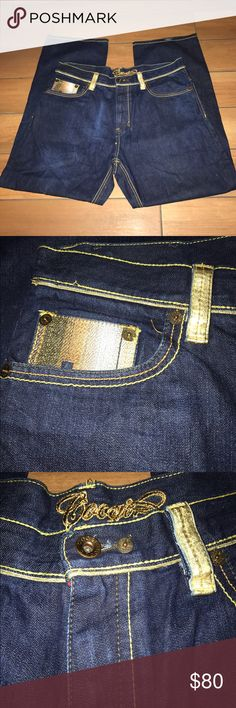 Coogi Jeans (men) Authentic Australian Body: 100% Cotton. Trim: Genuine Leather.Professional Dry Clean Only by Leather  Specialist. NWOT             W40 L34 Great Looking Pair of Jeans COOGI Jeans Relaxed