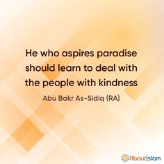 Want paradise? Treat people kindly.