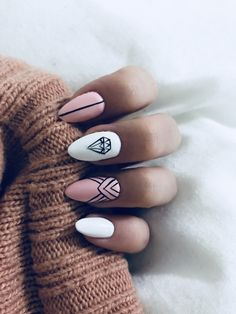 Diamond Nails: 30 Nail Designs with Diamonds 30 Beautiful Diamond Nail Art Designs Cute Nails, Pretty Nails, My Nails, Oval Nails, Diamond Nail Art, Diamond Nail Designs, Diamond Design, Nagellack Trends, Best Acrylic Nails
