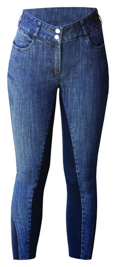 Our denim breeches are on-trend and combine fashion with function! Careful seam positioning, with a contoured higher waistband and hidden support, will help to help lift, slim and shape your body! #denimbreeches #denim #equestrianstyle #bestbreeches Equestrian Outfits, Equestrian Style, Slim, Shape, Clothing, Pants, Women, Fashion, Clothes
