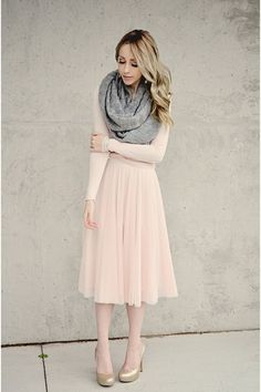 tulle skirt scarf - Google Search