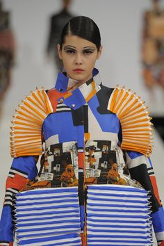 Fashion Editor at Large: FEAL'S TOP 5 FASHION GRADUATE COLLECTIONS 2012