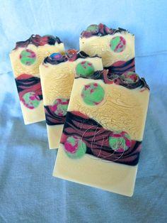 Bubble Gum Handmade Cold Process Aloe Silk Soap ♡
