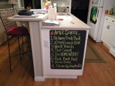 Love this way to remind our kids! #uppercase #organize