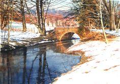 Joe Francis Dowden - Old Rectory Bridge