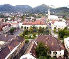 Baia Mare, Romania. I first visited five months after the Christmas Day 1989 Revolution. I also visited in December 1990. It took us 24 hours to drive to Romania from my house in Germany.