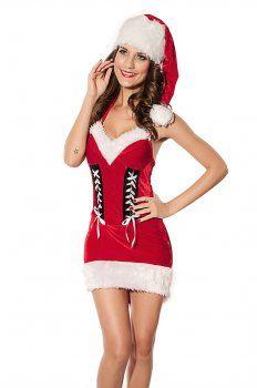 Kerst kostuum ( rood fluwelen kostuums )