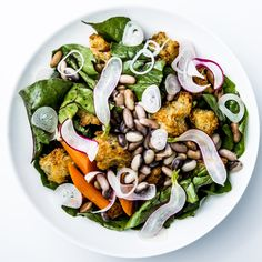 Shelled Bean & Swiss Chard Panzanella ~~> Use just one type of bean to ensure even cooking. Bean Recipes, Salad Recipes, Vegetarian Recipes, Delicious Recipes, Picnic Recipes, Side Recipes, Vegetable Recipes, Healthy Recipes, Swiss Chard Recipes